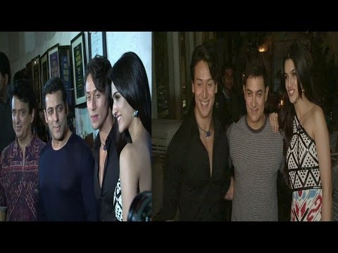 Aamir, Salman & Others At Success Party Of Movie Heropanti