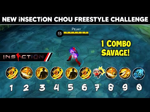 Chou Users i Challenge You, Do This NEW iNSECTiON FREESTYLE COMBO!
