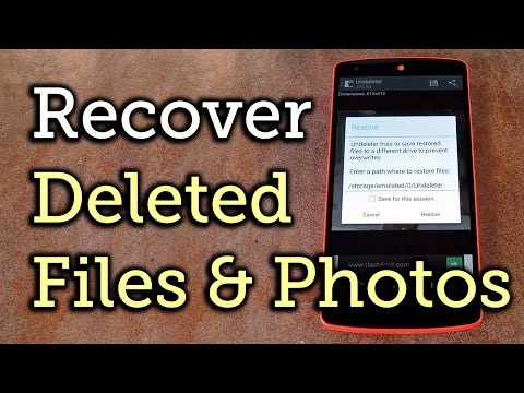 Video of Undeleter Recover Files & Data