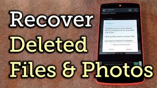 Undeleter Recover Files & Data YouTube video