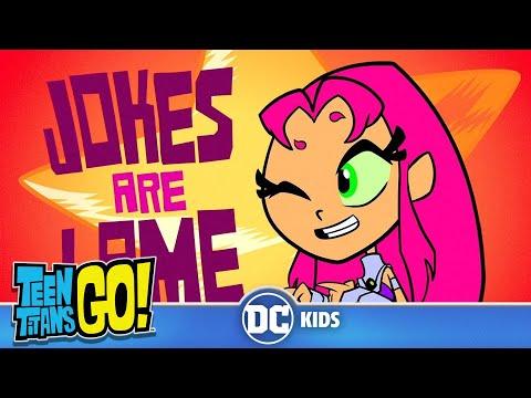 Teen Titans Go! KARAOKE | Uncle Jokes | DC Kids