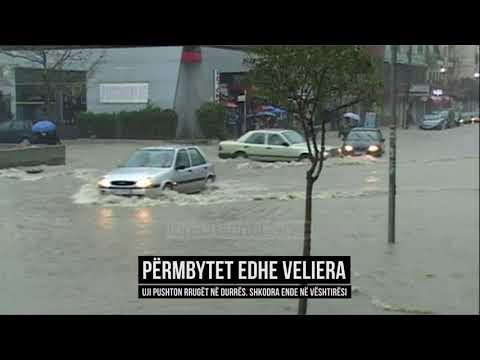 Përmbytet edhe Veliera, në Shkodër uji rrit nivelet - Top Channel Albania - News - Lajme (видео)