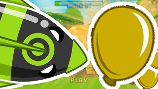 BLOONS TOWER DEFENSE 5 - THE GOLDEN BLOON CHALLENGE!