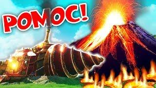ZALIJE NÁS LÁVA! | Vulcanoids #2