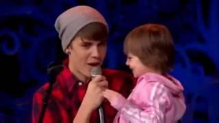 Justin Bieber and Jazmin HQ - december 2011