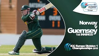 Match Highlights as Guernsey take on Norway in The Pepsi ICC Europe Division 1 Championships. Subscribe and catch -up with all the latest clips, highlights ...