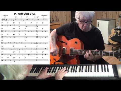 Video My Heart Stood Still - Jazz guitar & piano cover ( Richard Rodgers ) download in MP3, 3GP, MP4, WEBM, AVI, FLV January 2017