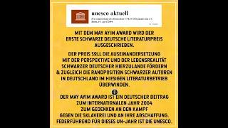 Video - AFROTAK TV präsentiert eine Schwarze Deutsche Spoken Word Performance - Schwarze Deutsche Literatur für RESPEKT