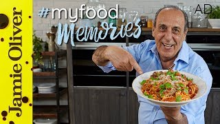 This is a paid AD by Hotpoint. One of Gennaro's favourite Food Memories is his father's Spaghetti & Meatballs, and he couldn't wait to tell us all about it. He knocks up this classic recipe, just like his Poppa would have, with two types of meat, fresh herbs and a delicious, slow-cooked tomato sauce. Delizioso! Check out more Food Memories here  http://jamieol.com/MyFoodMemories4For more nutrition info, click here: http://jamieol.com/NutritionSubscribe to Food Tube  http://jamieol.com/FoodTubeSubscribe to Drinks Tube  http://jamieol.com/DrinksTubeSubscribe to Family Food Tube  http://jamieol.com/FamilyFoodTubeTwitter  http://jamieol.com/FTTwitterInstagram http://jamieol.com/FTInstagramFacebook  http://jamieol.com/FTFacebookGennaro's spaghetti & meatballs recipe: http://jamieol.com/MeatballsRecipeMore great recipes  http://www.jamieoliver.comJamie's Recipes App  http://jamieol.com/JamieApp#FOODTUBEx