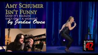 Amy Schumer has recently emerged as one of the leading female comedians but can't seem to grasp why so many people were put off by her most recent Netflix special.  Sp why is it that Amy Schumer leaves such a bad taste in our mouths?Please support my work at http://www.patreon.com/jordanowen42Please also visit:Jordan Owen on youtube: http://www.youtube.com/jordanowen42Jordan Owen on twitter: http://www.twitter.com/jordanowen42Jordan Owen on DeviantArt: http://jordanowen.deviantart.comJordan Owen on Blogspot: http://www.jordanowen42.blogspot.comJordan Owen's novel: https://www.amazon.co.uk/Eros-Empire-Jordan-Owen/dp/1593933762Jordan Owen on soundcloud: http://www.soundcloud.com/Jordanowen42The band: http://www.reverbnation.com/leavingbabylon