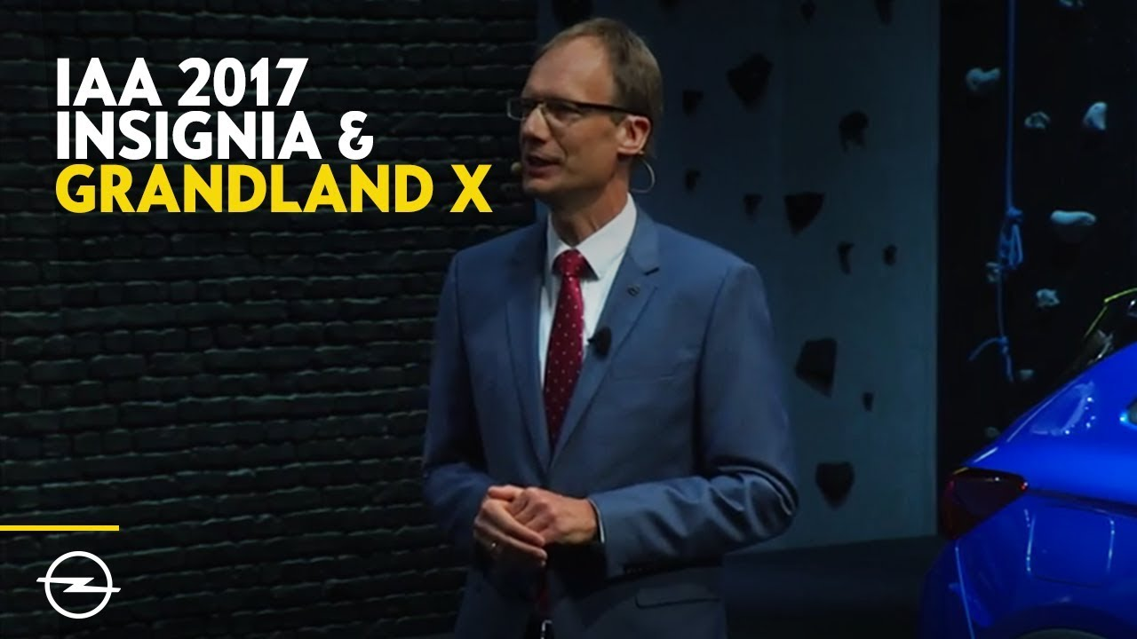 Grandland X + Insignia | Best-Of Opel Highlights von der IAA 2017