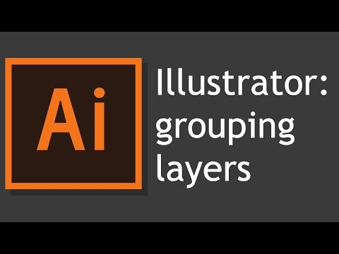 How To Keep Adobe Illustrator From Combining Layers When You Group Or Paste
