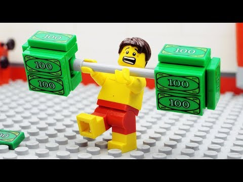 Lego VIP Gym Money Fail