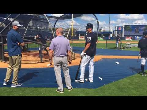 Yankees' Tyler Wade takes BP