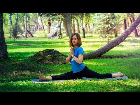 Хатха йога для развития гибкости позвоночника (профилактика остеохондроза)