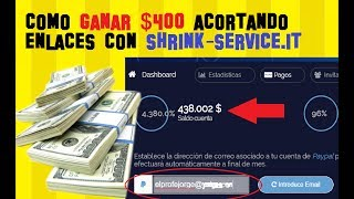 El día de hoy te enseñaré cómo ganar dinero por internet utilizando uno de los acortadores de enlaces que más pagan en la actualidad. El acortador del que hablaremos hoy se llama Shrink-Service.it y este es un acortador de origen italiano, entre sus aspectos más interesantes están su alto CPM.¿Que es el CPM?Es el costo por cada 1000 visitas en otras palabras, por cada mil personas o mil usuarios que visitan tu enlace acortado y ven los anuncios por 5 segundos, te van a pagar un valor el cual en promedio es de $1.8 dólares, en otros servicios como Adf.ly el promedio es de $0.7 dólares. Alto CPM = Mayores ingresosLINK DEL ACORTADOR: http://refferal.shrink-service.it/MTA3NzA=LINK DEL TRUCO SECRETO: http://elprofejorge.com/ganar-dinero-internet-acortando-enlaces-shrink-services-truco-secreto/LINK VIDEO ADFLY + TRUCO: https://www.youtube.com/watch?v=xKgD_uotb0w-------------------------------------------------------------------------------------------------------🌟🌟🌟🌟🌟DESCARGATE AHORA MISMO MI APLICACION FONTS - Letras para Whatsap: https://play.google.com/store/apps/details?id=com.logan20.fonts_letrasparawhatsapp🌟🌟🌟🌟🌟No olvides dejar 5 estrellas!!! GRACIAS😀😀😀😀😀--------------------------------------------------------------------------------------------------------💪¿QUIERES APOYAR EL CANAL Y GANARTE UN RECONOCIMIENTO EN MI PROXIMO VIDEO?https://www.paypal.me/elprofejorgeVIDEOS DESTACADOS:█ Ver TV Gratis en Android TODOS LOS METODOS POSIBLES https://www.youtube.com/playlist?list=PLN5_RTOYm0hPOQzvMSqHNNs9iqU9Hs2hO█ Noticias y Trucos para tu Android https://www.youtube.com/playlist?list=PLN5_RTOYm0hNqX1fK4cram7_FsJaQ5dNk█ Todo para ver CINE GRATIS en casa (Android y PC) https://www.youtube.com/playlist?list=PLN5_RTOYm0hMexavkLV4OsuoalrXmHuf2█ Ganar dinero con Mobidea https://www.youtube.com/watch?v=b-Av7Vr_vRo__No olvides que APRENDER ES GRATIS!!....SUSCRIBETESegundo CANAL XD Tops https://www.youtube.com/channel/UCBLuxYUzxXcFrqPkAs4vxtgBlog http://vitrinets.blogspot.com/Twitter https://twitter.com/elprofejorge10Facebook https://www.facebook.com/El-Profe-Jorge-680463462036088/timeline/DISCLAIMER  I do not own the anime, music, artwork or the lyrics. All rights reserved to their respective owners!!! This video is not meant to infringe any of the copyrights. This is for promote.Copyright Disclaimer Title 17, US Code (Sections 107-118 of the copyright law, Act 1976):All media in this video is used for purpose of review & commentary under terms of fair use. All footage, & images used belong to their respective companies.Fair use is a use permitted by copyright statute that might otherwise be infringing.