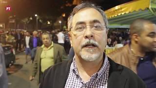 """Alberto Cantalice, vice-presidente do PT, participou do ato em defesa de Lula e da democracia no Rio de Janeiro. """"Esse ato..."""