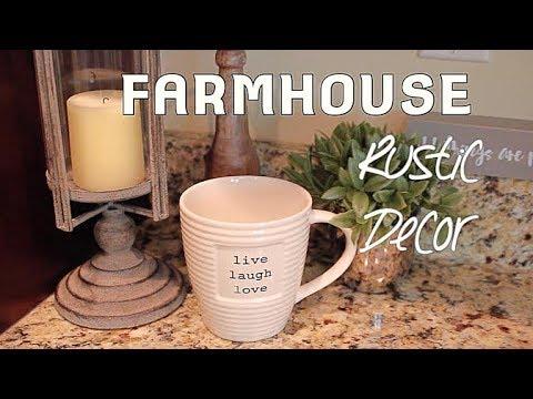 Farmhouse Rustic Decor Mini Haul & Setup