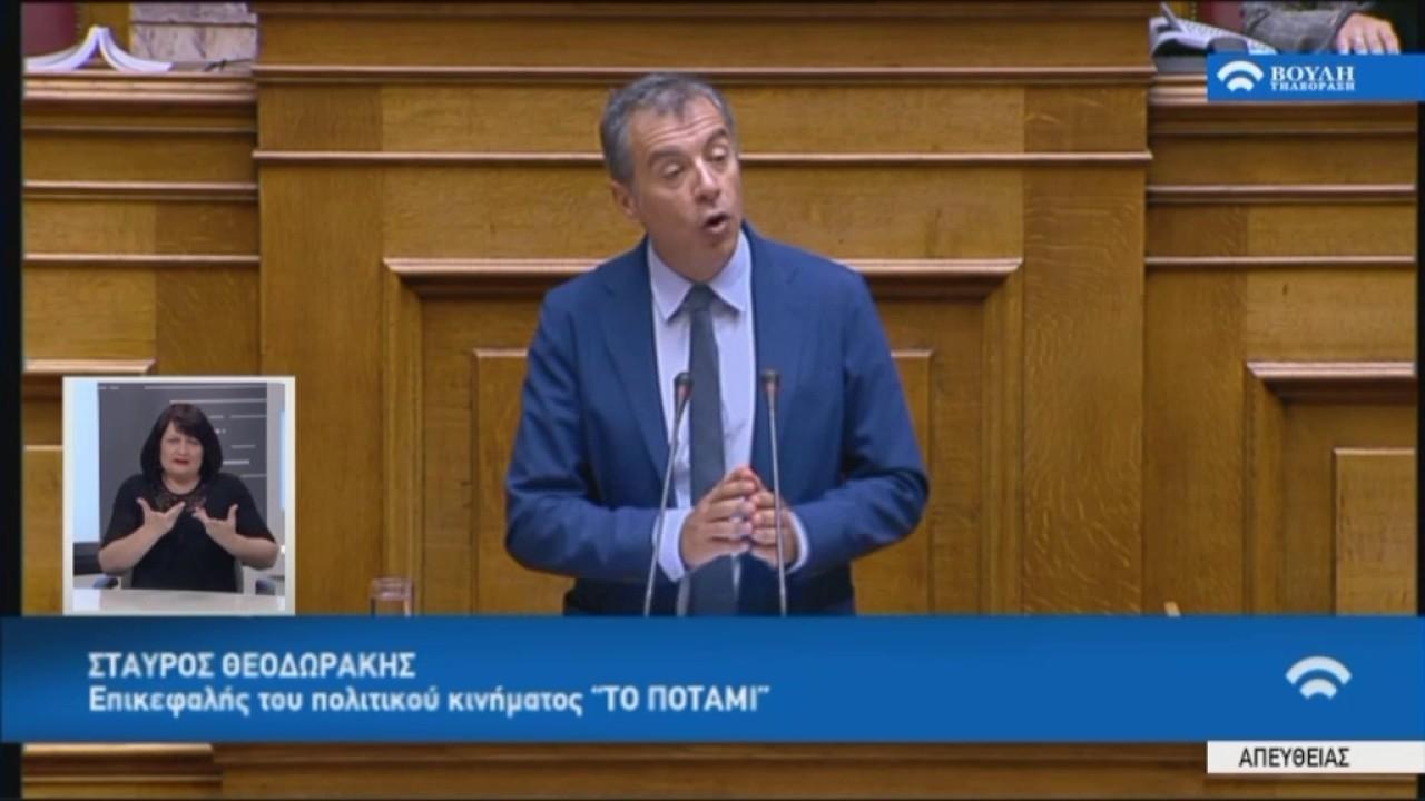 Στ. Θεοδωράκης (Πρόεδρος Κ.Ο. Ποταμιού)(Ενημέρωση για το Κυπριακό)(11/07/2017)