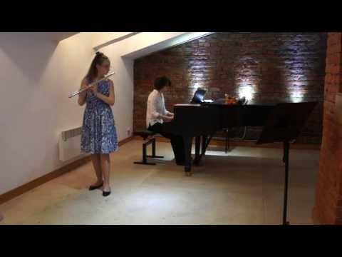 Jules Mouquet. La Flûte de Pan. 2, 1 mouvments. Uliana ZHIVITSKAYA (flute) (видео)