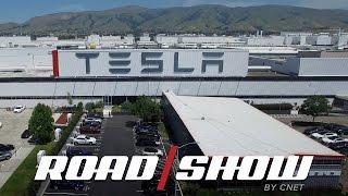Tesla Factory Tour by Roadshow