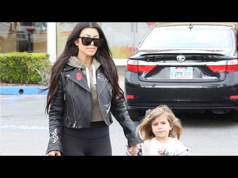 Kourtney Kardashian And Daughter Penelope Spend The Day Together
