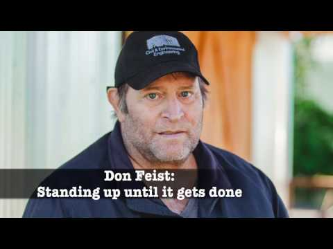 Don Feist: Refusing to give up