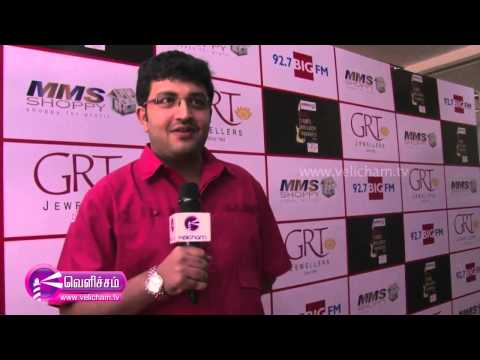"Big FM ""Tamil Melody Awards"" – Siddhart Vipin ""Nadula konjm pakatha kanom"""