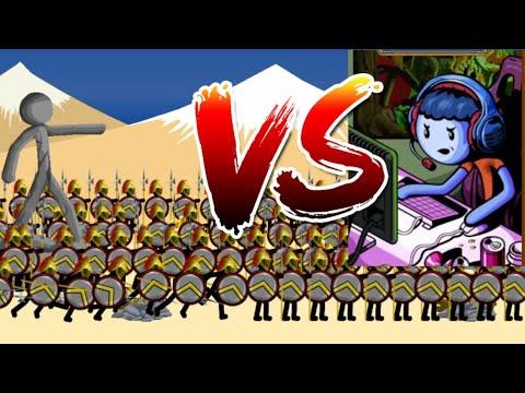 300 Warriors vs Z4CK | Insane MODE Tournament | Stick War Legacy