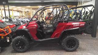 8. 2018 Can-Am® Commander™ XT™ 800R Intense Red For Sale in Upper Darby near Philadelphia PA
