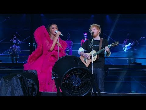 Video Beyoncé and Ed Sheeran - XO / Perfect  Global Citizens Festival Johannesburg, SA 12/2/2018 download in MP3, 3GP, MP4, WEBM, AVI, FLV January 2017