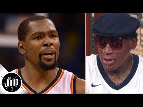 Video: Dennis Rodman calls Kevin Durant's OKC comments 'selfish' | The Jump