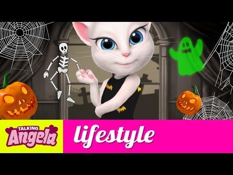 Talking Angela - Five Things I Like About Halloween (видео)