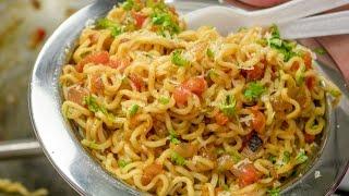 Nonton Masala Maggi Recipe In Hindi   Indian Street Style Veg Maggie Noodles Hindi Me   Film Subtitle Indonesia Streaming Movie Download
