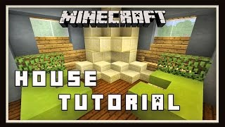 Minecraft:  How To Build A Small Modern House  (Part 3 Living Room Interior Design)