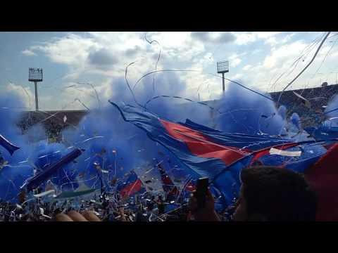 Salida U de Chile en clásico contra las zorras - Los de Abajo - Universidad de Chile - La U - Chile - América del Sur