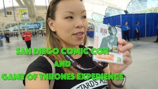 Wendy heads down to San Diego Comic Con and checks out the Game of Thrones: Winter Is Here experience. Find us on Instagram & Twitter: ...
