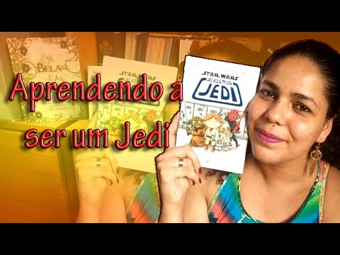 "VEDA #21: Resenha do livro ""Star Wars - Academia Jedi"", do Jeffrey Brown"