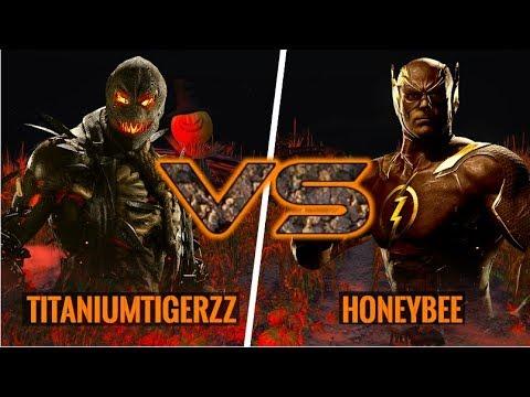 Something Is Different Here! HoneyBee (Flash) vs Titaniumtigerzz (Scarecrow)