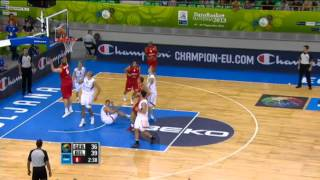 Highlights Germany-Belgium EuroBasket 2013