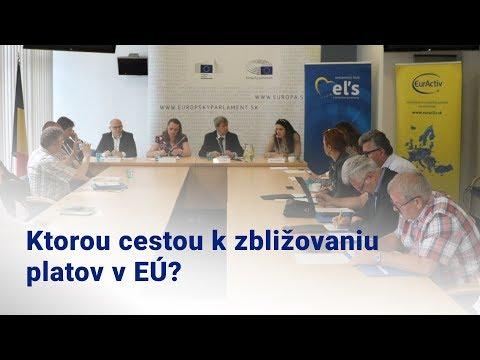 Poslanec EP Kukan: Ktorou cestou k zbližovaniu platov v EÚ?
