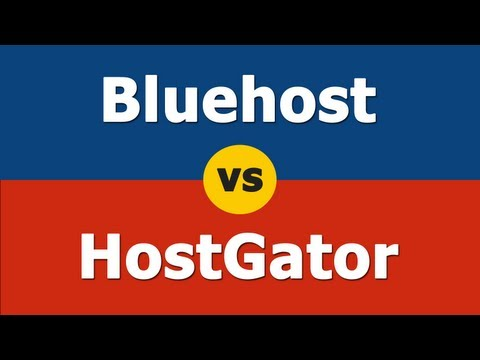 Bluehost vs Hostgator – Is Hostgator or Bluehost Right For You?