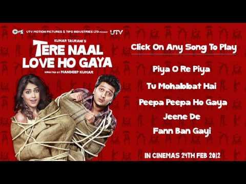 Tere Naal Love Ho Gaya Audio Jukebox - Full Songs Non Stop