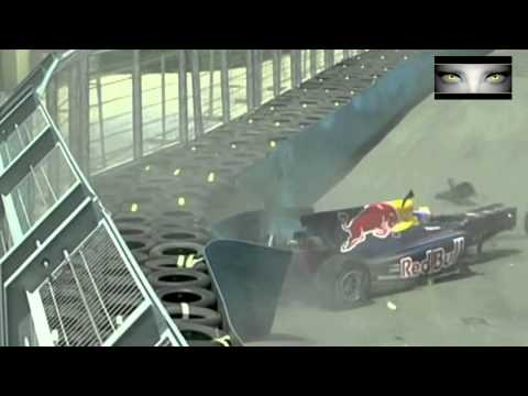incredibile incidente di mark weber nel 2010