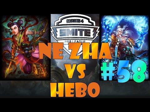 Smite Duel Dacow #58     Ne Zha  vs Hebo   Ranked 1v1 Diamond German Gameplay