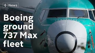 Video Entire Boeing 737 Max aircraft fleet grounded MP3, 3GP, MP4, WEBM, AVI, FLV Maret 2019