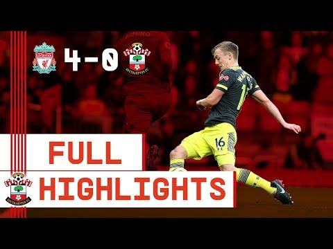 HIGHLIGHTS Liverpool 4-0 Southampton  Premier League