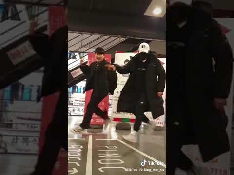 韩国帅哥热舞