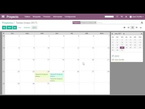 Webinar en Vivo - Administración de Proyectos con Odoo