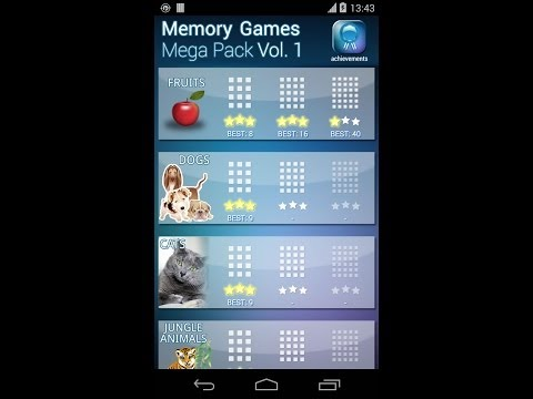 Video of Memory Games Mega Pack HD Free